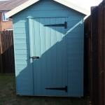 Apex shed sage green