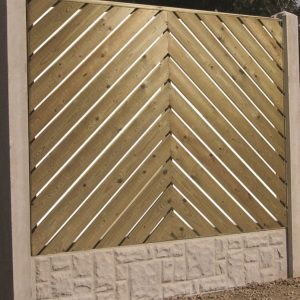 Deluxe Timber Fence Panels