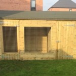 Dog kennel crop