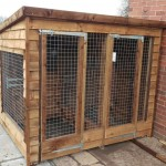 kennel and run/ wire mesh