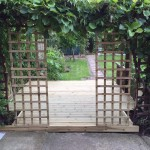trellis and decking