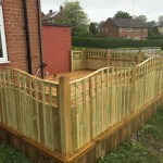decking trellis fencing