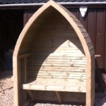 Boat Style Arbour priced from £325