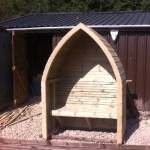 boat style arbour