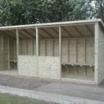 bowling shelter