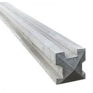 concrete 3way post