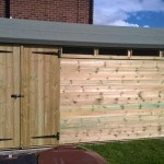 custom deluxe shed