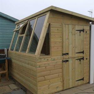 deluxe potting shed