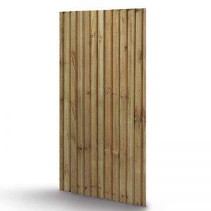 Sawn garden gate