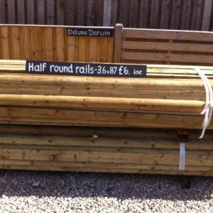 half round rails