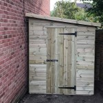 made to measure space saving shed