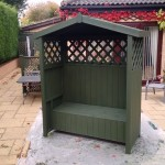 painted arbour