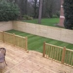 decking with Kika Privacy panels