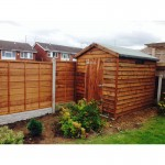 Shed and lap fencing