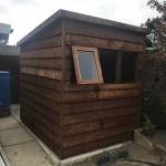 potting shed overlap