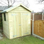 shed installation