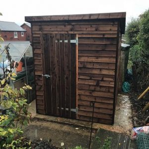 Space Saving Shed