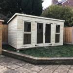 shiplap shed double door